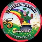 FITZGERALDS-5-$ Las Vegas Irish
