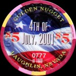 GOLDEN-NUGGET-LAUGHLING-5-$ 4th of July 2001