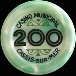 CASSIS 200 Vert Clair