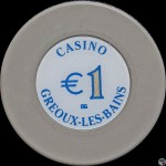 GREOUX LES BAINS   1€