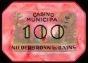 NIEDERBRONN 100