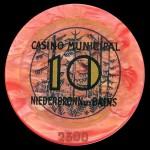 NIEDERBRONN 10 Rouge