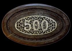 PLAQUE 500