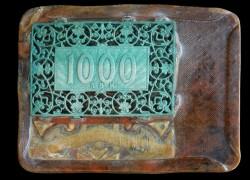 PLAQUE 1 000