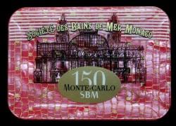 Plaque 20 000 Bleu Monaco