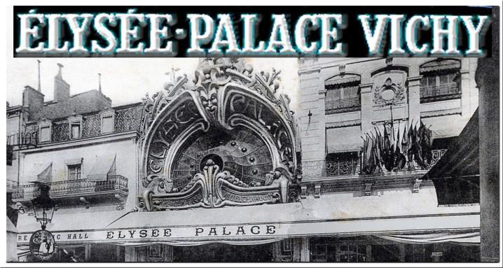 VICHY ELYSEE PALACE