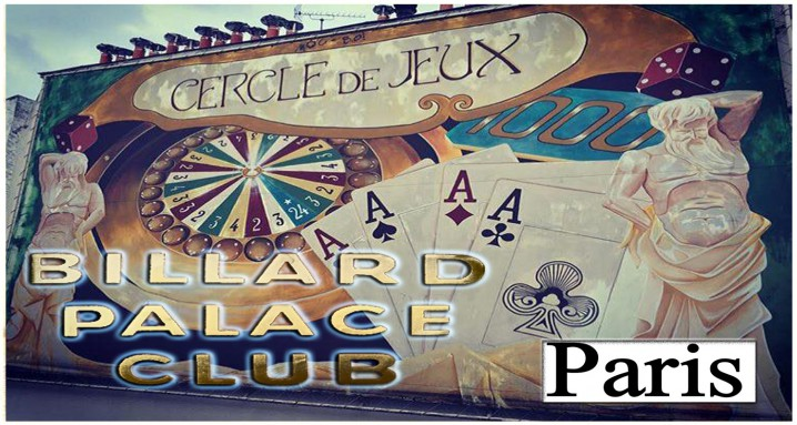 BILLARD PALACE CLUB PARIS