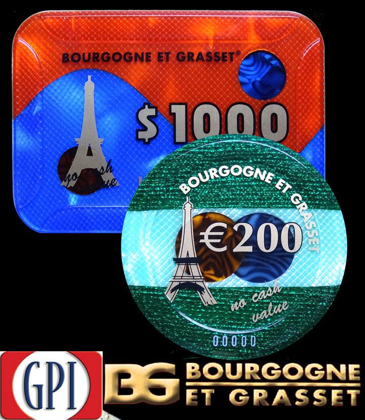 GPI - BOURGOGNE & GRASSET CHIPS SAMPLES