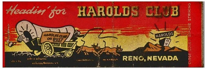 HAROLDS CLUB