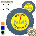 PALMS 1 ROULETTE BLEU NUIT