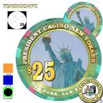 PRESIDENT 25 New Jersey
